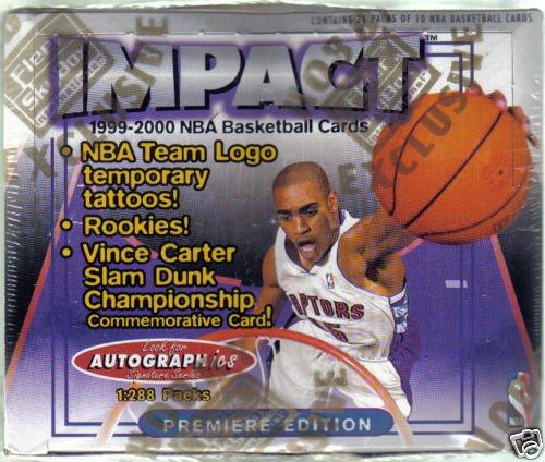 FLEER SKYBOX IMPACT HOBBY box 1999 2000 NBA basketball