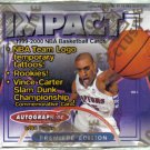 FLEER SKYBOX IMPACT HOBBY box 1999 2000 NBA basketball