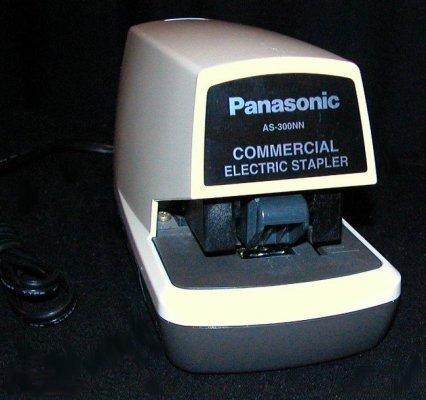 Panasonic AS-300NN Commercial Electric STAPLER