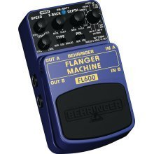 BEHRINGER FLANGER MACHINE guitar stomp effects pedal