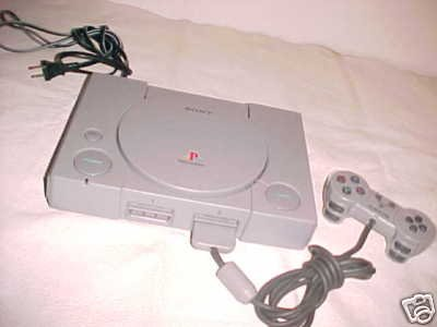 Sony PLAYSTATION game system console set w/ Controller
