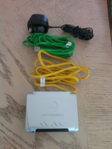 Motorola DSL Modem 2210 High Speed ethernet w/extras