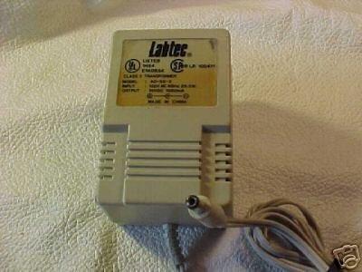 AD-SS-2 3 Labtec power ADAPTER 15 volt 15v speakers