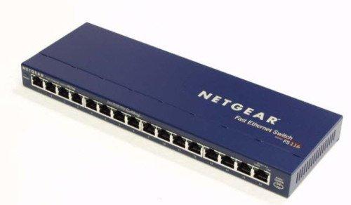 FS116 NETGEAR fast ethernet router modem switch hub