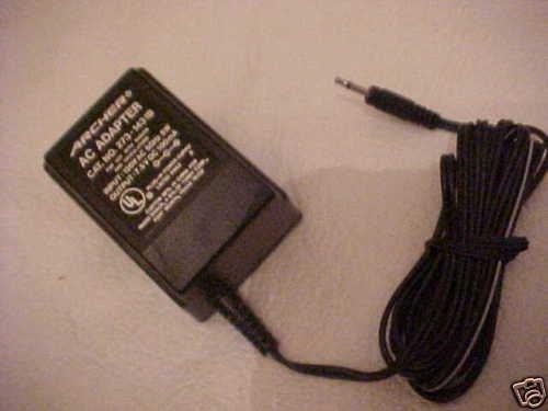 273-1431A Archer 7.5v 7.5 v power adapter supply radio