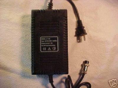 24V 1A battery charger = Qili adapter bicycle eZIP bike