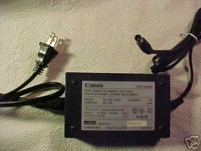 K51-0180 Canon ac power supply adapter adaptor CanoScan
