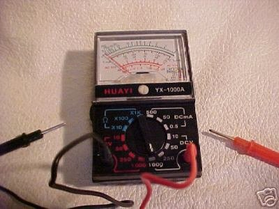 New 1000 volt ac/dc MULTITESTER multi tester multimeter