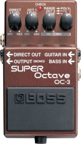 BOSS OC 3 Super Octave guitar stomp effects pedal OC3