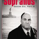 The Sopranos season 6 six part 2 two 2007 4 DVD set NEW