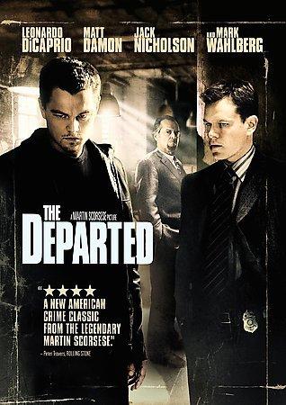 DEPARTED  Brad Pitt Jennifer Aniston Jack Nicholson DVD