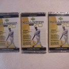 3 new 1999 UPPER DECK CHALLENGERS for 70 baseball PACK sealed