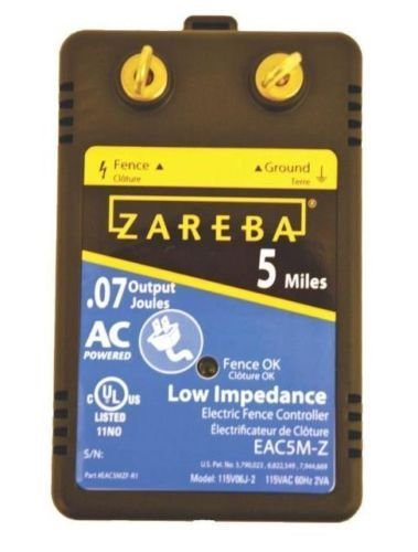 ZAREBA electric fence security control console EAC5M-Z 115vo6J-2 EAC5MZF-R1
