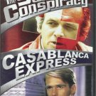 Swiss Conspiracy & Casablanca Express DVD COLOR movies Glenn FORD David JANSSEN