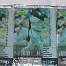 3 new 2001 UPPER DECK ud HOBBY MLB baseball PACK sealed series one ser.1 packs