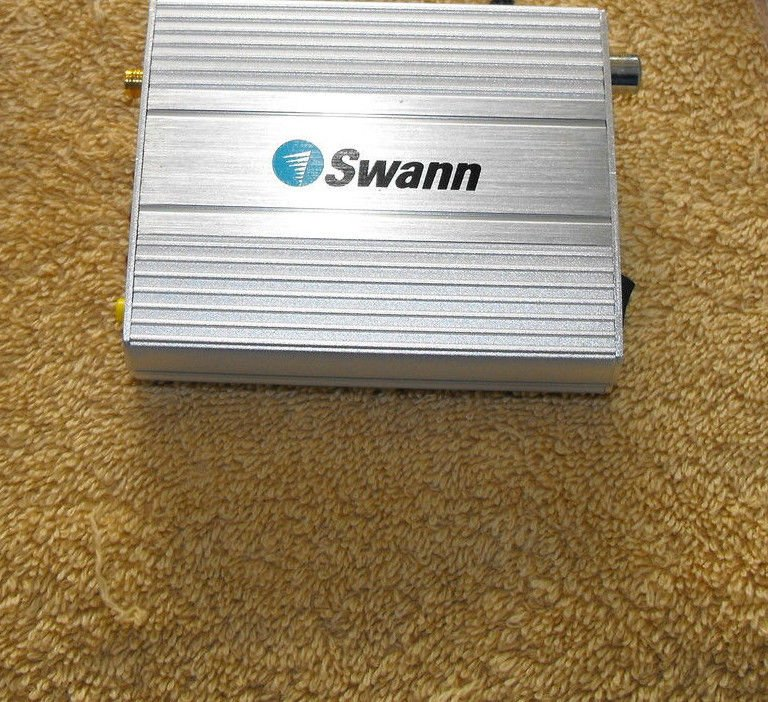 SWANN 4 CHANNEL RECEIVER switch for MICROCAM II WIRELESS SECURITY CAMERA