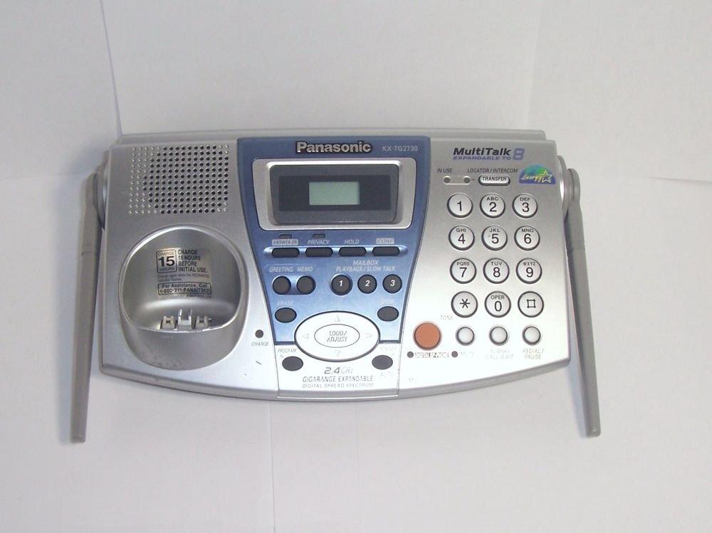KX TG2730s cordless phone base = cordless KX TGA270S PANASONIC HANDSET