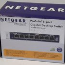 GS108 NetGear - ProSafe 8 Ports External Ethernet fast ethernet switch modem hub