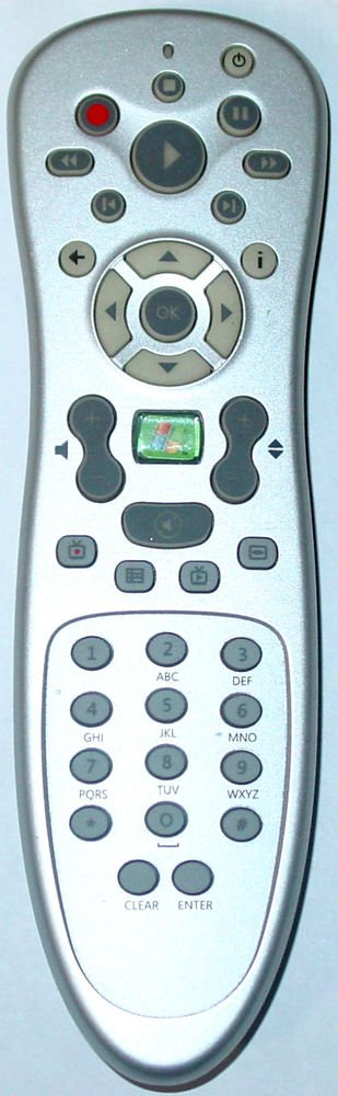 RC1534034/00 Remote Control - Dell Windows Media Center RC6 Windows 7 Vista PC