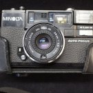 Minolta Hi Matic AF 2 Auto Focus 35mm Rangefinder Film Camera w/ Original Case