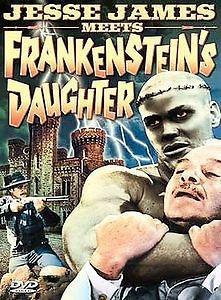Jesse James Meets Frankenstein's Daughter DVD color John Lupton William Beaudine