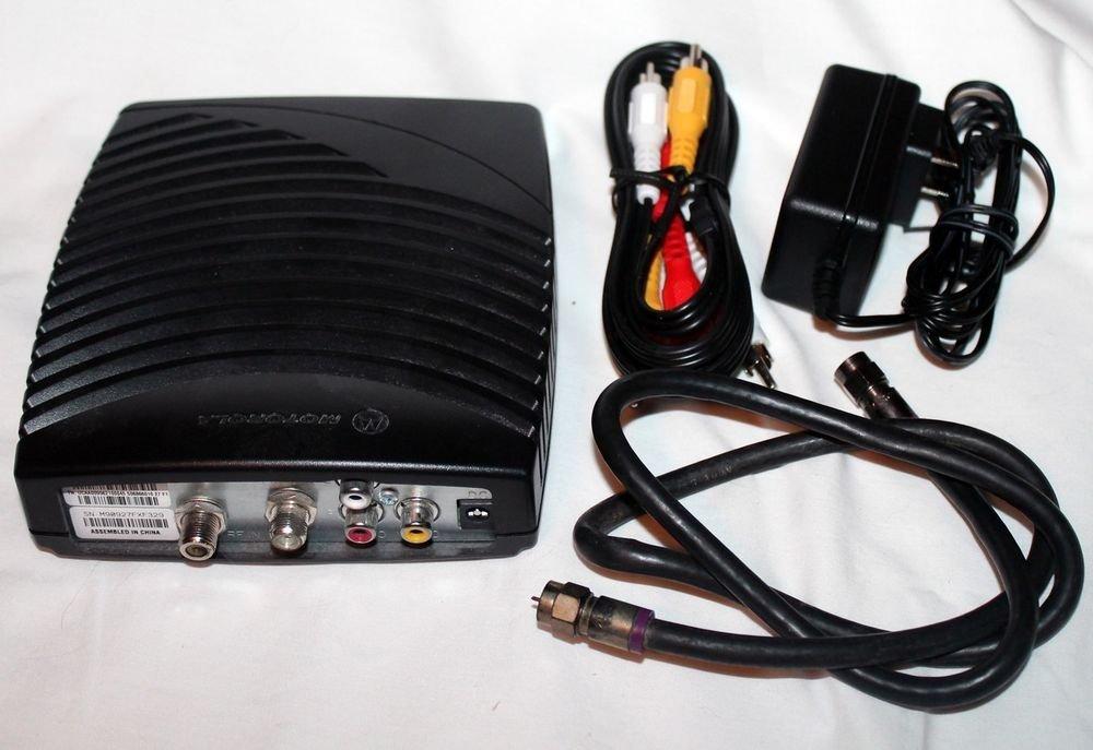 Motorola DCT 700 US CATV Digital Cable video receiver Box TV Home Converter VCR
