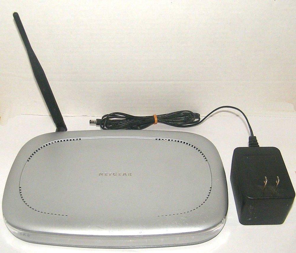 NetGear MR814 Wireless B 11 Mbps 4-Port 10/100 Router internet ethernet DSL PC