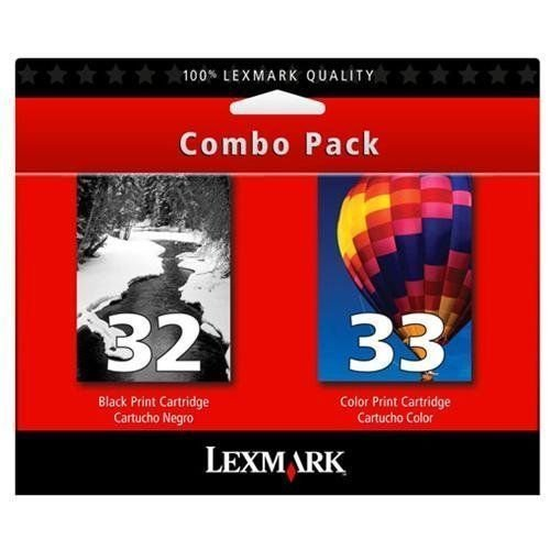 32 33 color black ink jet - Lexmark printer x 5410 5450 5470 7170 7310 7350 8310