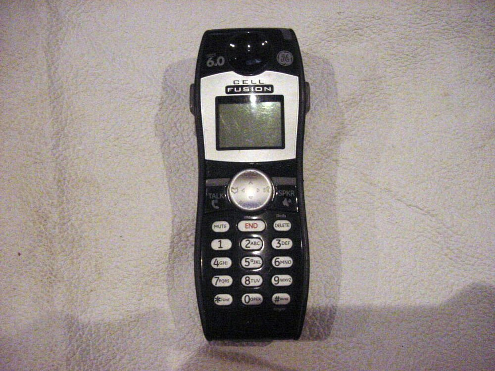 GE CELL FUSION DECT 6.0 DIGITAL HANDSET CORDLESS Caller ID PHONE 28127FE2