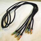 a/v cord Lucasfilm THX Gold Plated Monster cable 3 wire braided outer sheath av