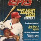 sealed HOBBY box 2000 TOPPS BASEBALL SERIES 1 one 36 packs MLB TOPPS