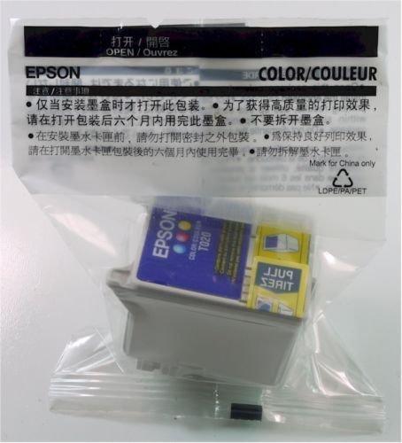 Epson T020 201 COLOR ink jet cartridge photo stylus printer 880 880i - TO20