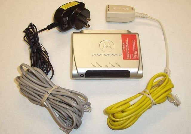 Motorola DSL Modem MSTATEA 2210 ATT High Speed ethernet internet AT&T model