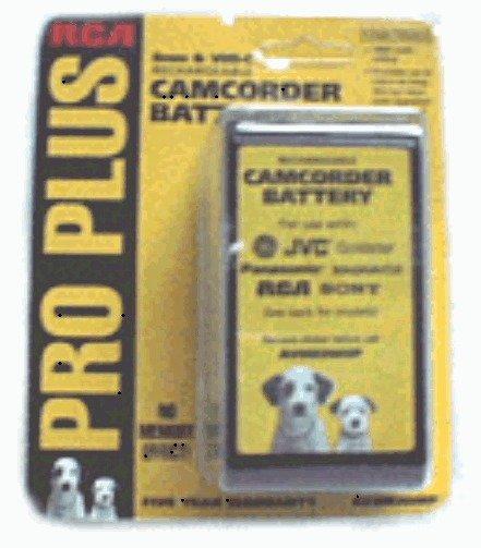Thomson brand AV8M3WHP rechargeable camcorder BATTERY VHS-C 8mm JVC RCA Sony