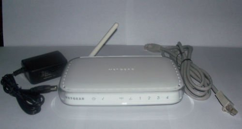 NetGear WGR614 Wireless G Router internet Cable PC MAC 54 MBPS ethernet switch