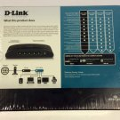 D Link DES 1005E dlink green 5 10/100 port FAST ethernet switch multi networking