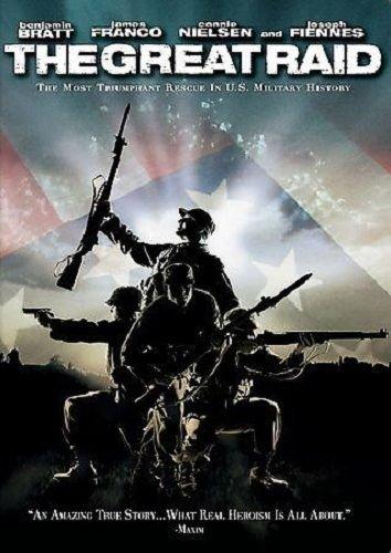 The Great Raid - TWO THUMBS UP - DVD Benjamin Bratt Joseph Fiennes James Franco