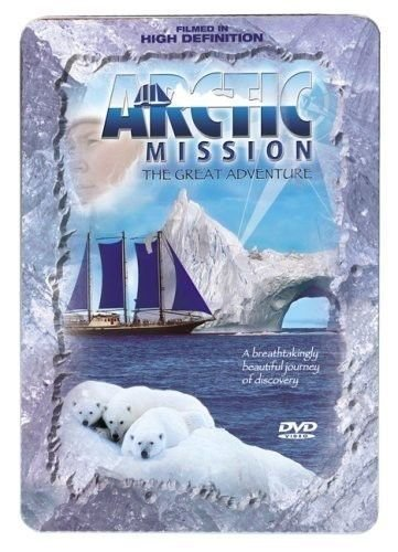 new - Arctic Mission The Great Adventure 5 Disc DVD Journey of Discovery TIN BOX