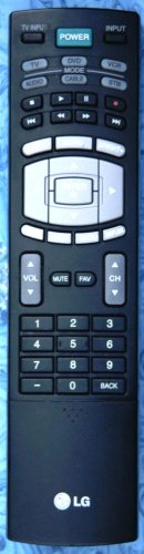 LG AKB32559904 LCD TV REMOTE CONTROL 32LC7DC 37LC7D 42LC7D 42PC5D 50PC5D 60PC1DC
