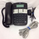AT&T 2 (two) Line SPEAKER tele PHONE Model 972 ATT Corded Conference Speed Dial