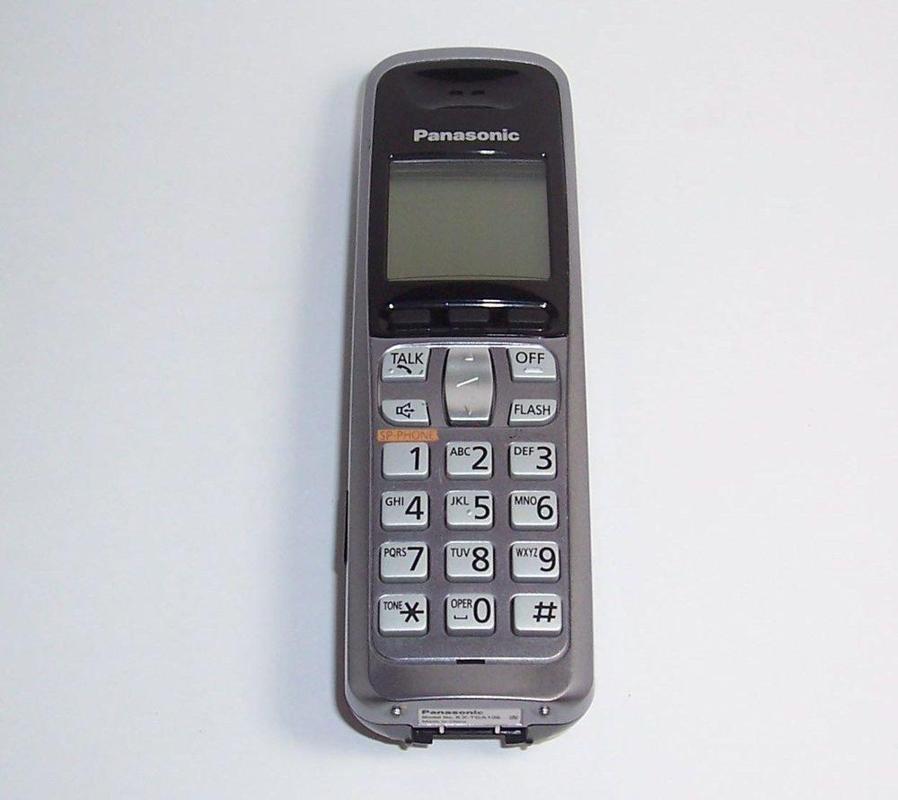 Panasonic TGA106m HANDSET = CORDLESS PHONE base KX TG1062m PNLC1008ZA TG1061m