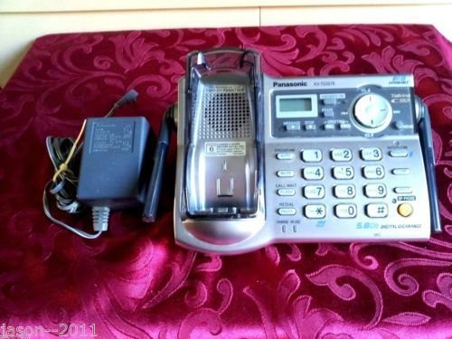 KX TG5576 S PANASONIC charger base w/PS = cordless TGA552 S handset tele phone
