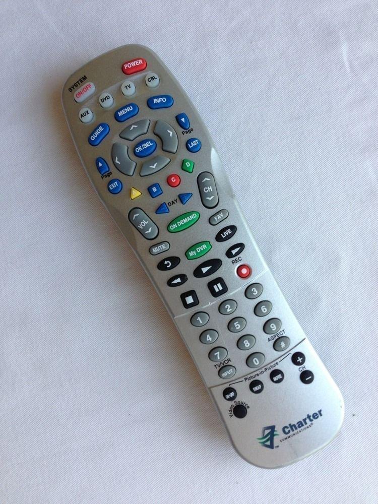 REMOTE CONTROL Charter UR4U MDVR CHD2 PIP on demand my DVR DVD cable box TV