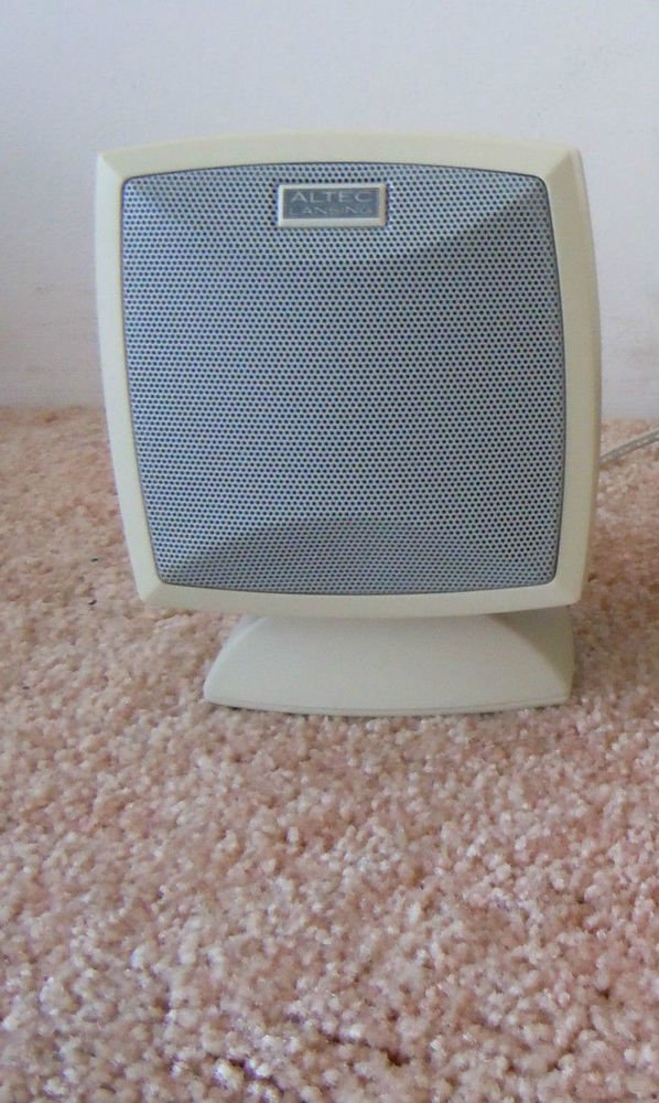 Altec Lansing ACS 44 - REMOTE Satellite Speaker ONLY - pc audio laptop Computer