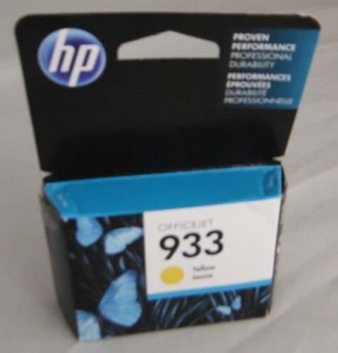 933 HP yellow color ink ORIGINAL cartridge - OfficeJet 6100 6600 6700 7110 7610