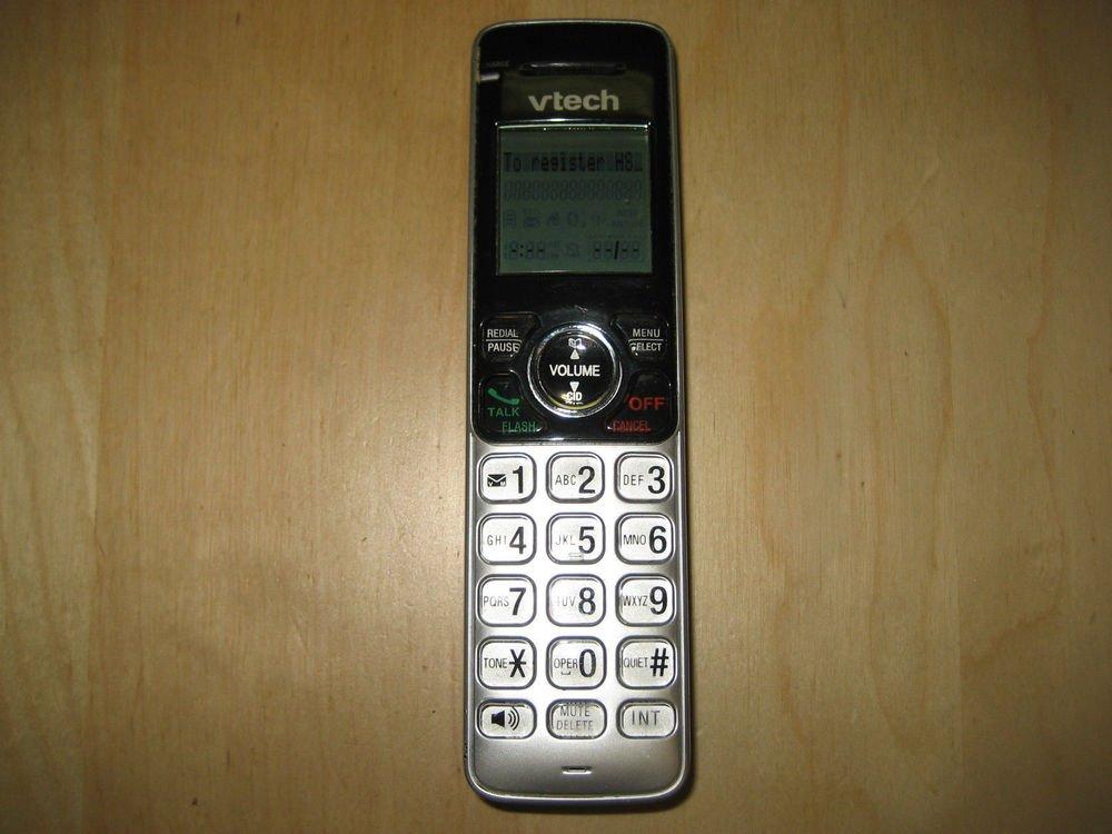 VTECH CS6619 2 HANDSET - cordless tele phone v tech satellite recharable remote
