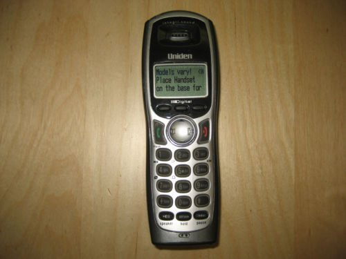Uniden TRU 9485 4wx remote HANDSET - cordless expansion telephone 5.8 GHz phone