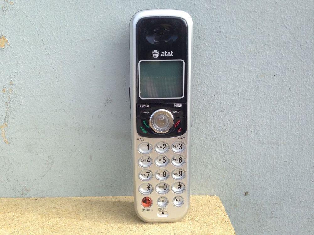AT&T SL82208 remote Handset - tele phone ATT 5.8GHz cordless expansion DECT 6.0