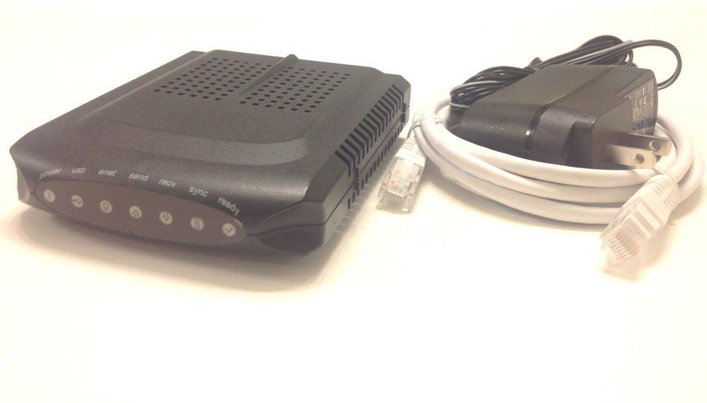 Ambit U10C018 cable modem ethernet USB PC Mac internet box enet coaxial computer