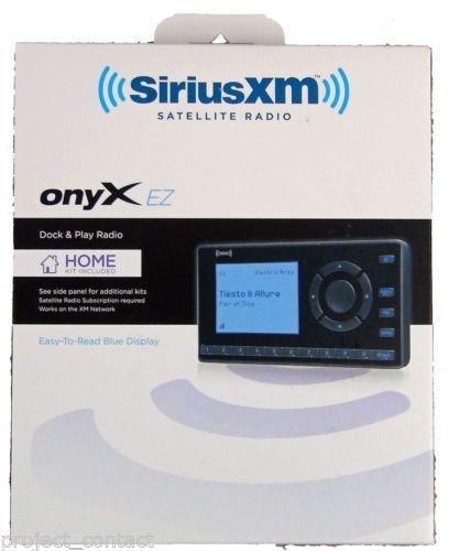 factory sealed SiriusXM Satellite Radio model XEZ1H1 Onyx EZ Home Kit Sirius XM